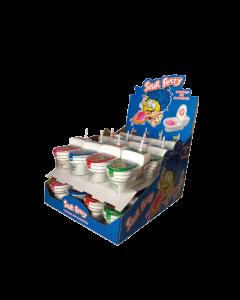 Sour Potty Toalett (WC) dipping lollipops 19g x 24 st