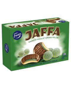 Fazer Jaffa Grön Kulor kex 300g (24st)