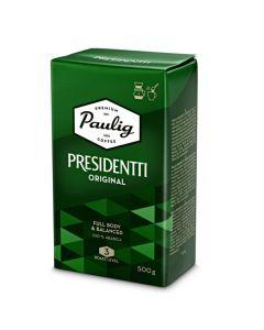Paulig Presidentti Mörk Rost filtermalet kaffe 500g