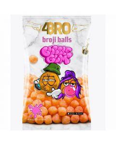 4Bro Broji Balls Bubble Gum majssnacks 75g