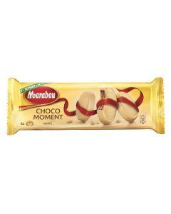 Marabou Choco Moment Vit Choklad kexrån 180g