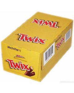 Twix chokladbar 50g x 30st