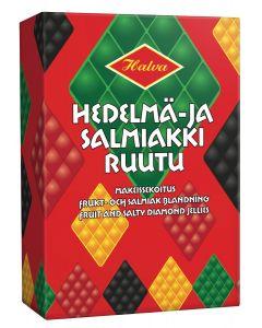 Halva Frukt och Salmiakblandning 240g