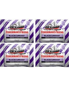 Fisherman's Friend Blackcurrant 4x25g