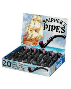 Malaco Skipper's Pipes Lakritspipor 17g x 20st