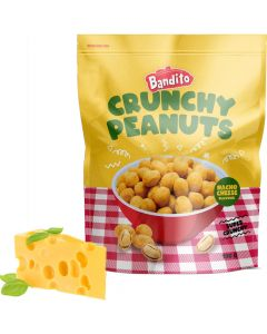 Bandito Crunchy Peanuts Nacho Cheese nötter 100g