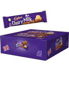 Cadbury Dairy Milk Wholenut chokladbar 12st (540g)
