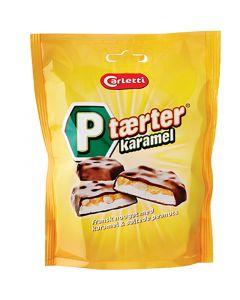 Carletti Tærter karamel (jordnötter & Nougat) 80g