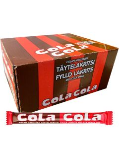 Cloetta ColaCola fylld lakritsstång 50 st (14g)