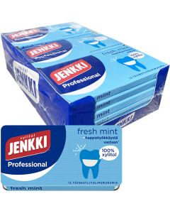 Cloetta Jenkki Professional Fresh Mint helxylitoltuggummi 17g x 18st