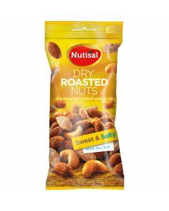 Cloetta Nutisal Dry Roasted Sweet and Salty Mix 60g