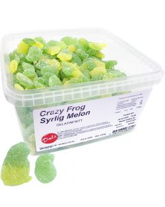 Dals Crazy Frog Syrlig Melon 2kg