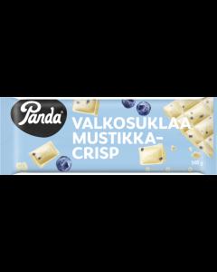 Panda Vitchoklad Blåbärcrisp chokladplatta 145g