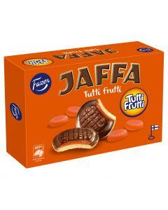 Fazer Jaffa Tutti Frutti leivoskeksi 300g