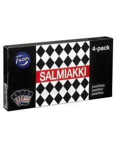 Fazer Salmiakki pastiller Traveller Exclusive 4-pack