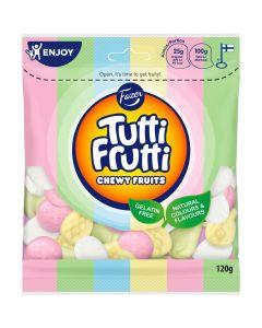 Fazer Tutti Frutti Chewy Fruits 120g