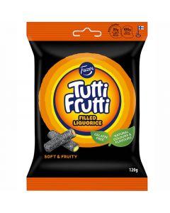 Fazer Tutti Frutti Filled Liquorice fylld lakrits 120g