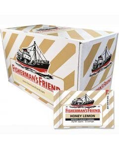 Fisherman's Friend Honey & Lemon sugar free 25g x 24 st