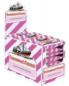 Fisherman's Friend Raspberry sockerfri, låda ( 24 st x 25g )
