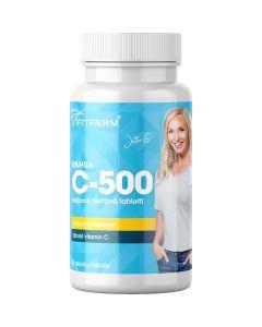 Fitfarm Strong C-500 C-vitamin 90 tabl.