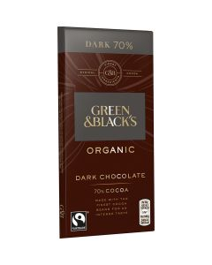 Green&Blacks 70% Mörk Choklad Eko 90g