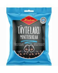 Halva Fyllda lakrits (mintchoklad) 210g