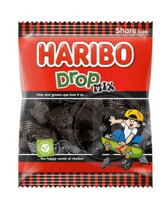 Haribo Drop Mix lakritsblandning 400g