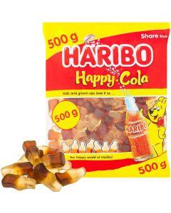 Haribo Happy Cola colanappar 500g