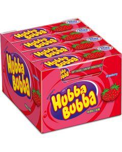 Hubba Bubba Jordgubb tuggummi 35g x 20 st