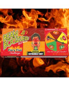 Jelly Belly Bean Boozled Flaming Five godisspel 100g