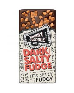 Johnny Doodle Dark Salty Fudge chokladkaka 150g
