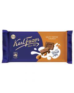 Karl Fazer Salty Toffee Crunch chokladkaka 145g