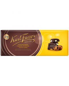 Karl Fazer Mörk choklad med hela hasselnötter 200 g