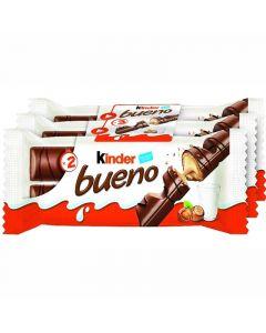 Kinder Bueno chokladstång 43g x 3-pack