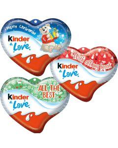 Kinder Love chokladhjärta 37g