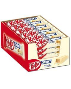 Nestle KitKat Chunky White vitchoklad 40g x 24 st