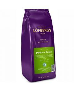 Löfbergs Medium Roast kaffebönor 1kg