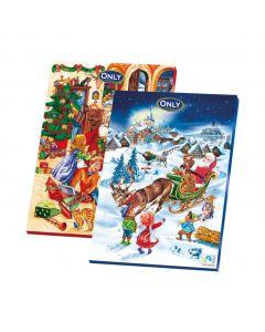 Julchokladkalender 75g