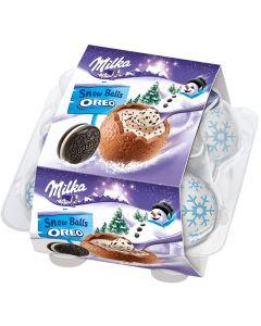 Milka Oreo Snow Balls fylld påskägg 112g