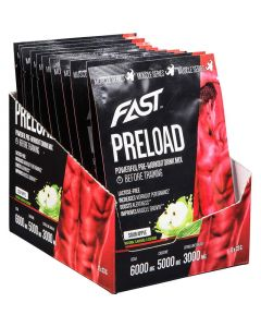 Fast Muscle Series Preload Sour Apple 33g x 12kpl