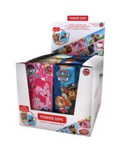My Little Pony & Paw Patrol Power Dips dipping lollipops 12g x 36st