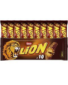 Nestle Lion mjölkchokladbar 10-pack