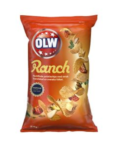 OLW Ranch chips 275g