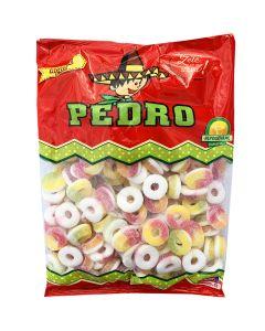 Pedro Fruktringar 1kg