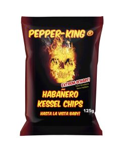 Pepper-King Habañero Kessel chips 125g