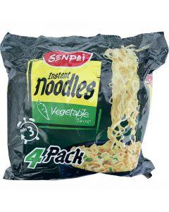Senpai snabbnudlar 4-pack vegetable 272g