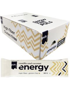 Puls Energy Vanilla and Coconut protein bar 50g x 24st