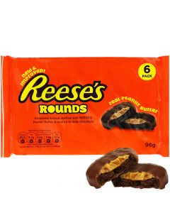Reese's Rounds Peanut Butter chocolate cookies 96g