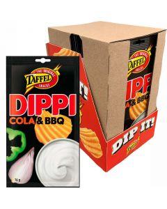 Taffel Cola BBQ dippkrydd 16g x 24st
