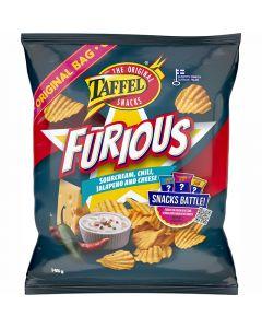 Taffel Furious potatischips 145g